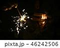 花火 火 炎の写真 46242506