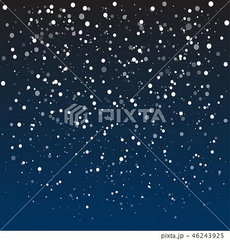 Falling snow, vector illustration 10 EPS. 46243925
