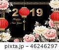 2019 チャイニーズ 中国人のイラスト 46246297