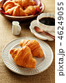 クロワッサン コーヒー 料理の写真 46249055
