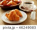 クロワッサン コーヒー 料理の写真 46249083
