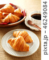 クロワッサン コーヒー 料理の写真 46249084