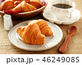 クロワッサン コーヒー 料理の写真 46249085