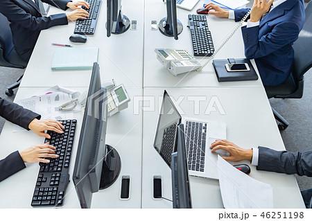 ビジネスチーム、業務、オフィス、パソコン 46251198