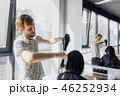サロン 美容師 ドライヤーの写真 46252934