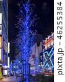 日本 クリスマス 冬の写真 46255384