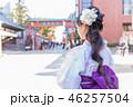 女性 人物 アジア人の写真 46257504