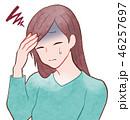 女性/頭痛 46257697