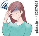 女性/頭痛 46257698