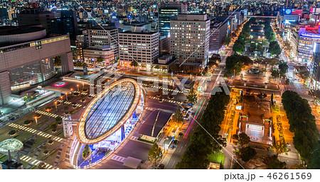 名古屋市 久屋大通公園 オアシス21の夜景 46261569