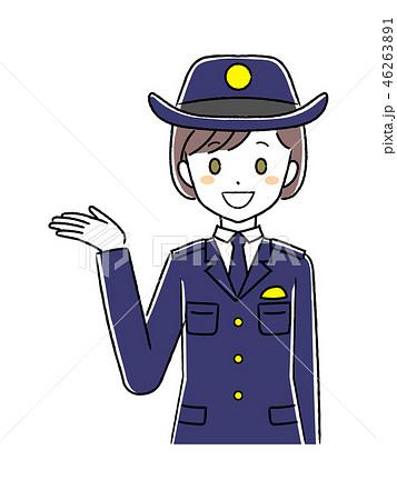 婦人警察官のイラストのイラスト素材 [46263891] - PIXTA