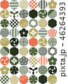 和風 パターン 柄のイラスト 46264393