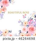 花 フラワー お花のイラスト 46264698