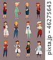 女の人 女性 職業のイラスト 46275643
