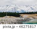 lake pukak in New Zealand. 46275817