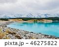 lake pukak in New Zealand. 46275822