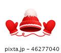 帽子 ハット ミトンのイラスト 46277040