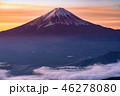 富士山 雲海 朝景の写真 46278080