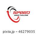 ロゴ 速度 ベクトルのイラスト 46279035