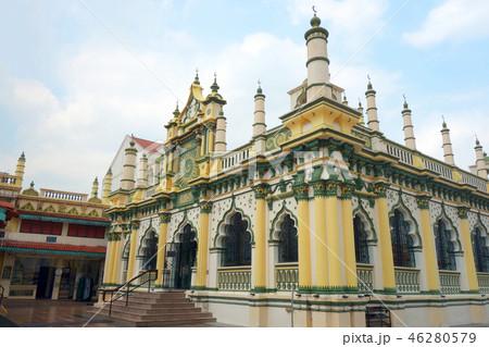 シンガポール リトルインディア マスジッドアブドゥルガフール モスク Singapore 46280579