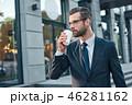 ビジネス 調節 ビジネスマンの写真 46281162