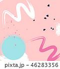 スプラッタ テクスチャー 絵のイラスト 46283356