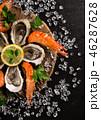 魚介類 ヘルシー 健康的の写真 46287628