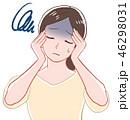 女性/頭痛 46298031