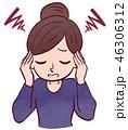 女性/頭痛 46306312