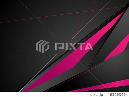Purple black tech corporate abstract background 46306346
