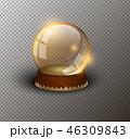 クリスマス 金 黄金のイラスト 46309843