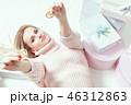 女 女性 コインの写真 46312863
