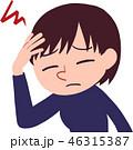 女性/頭痛 46315387