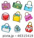ベクトル 鞄 ハンドバッグのイラスト 46315419