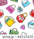 ベクトル 鞄 ハンドバッグのイラスト 46315420