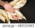 マニキュア 金色 黄金の写真 46315463