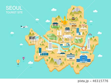 한국 여행 랜드마크 46315776