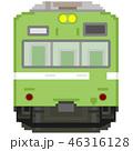 ドット絵風の通勤電車(低運転台・奈良線103系) 46316128