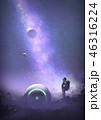 描画 絵画 絵画制作のイラスト 46316224
