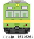 ドット絵風の通勤電車(関西本線103系) 46316261
