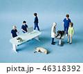 動物病院スタッフとペットたち 46318392