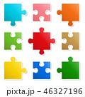 パズル カラフル ジグゾーのイラスト 46327196