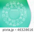 丸 円 円形のイラスト 46328616