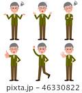シニア 男性 ベクターのイラスト 46330822