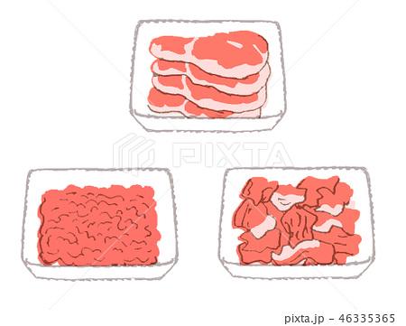 肉 パック いろいろ 46335365