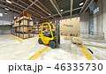 倉庫 作業 屋内のイラスト 46335730