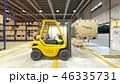 倉庫 作業 屋内のイラスト 46335731