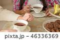 ティー コーヒー カップの写真 46336369