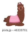 アルパカ 赤ちゃん 元気なのイラスト 46339701