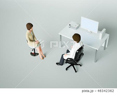 病院の診察室 46342362